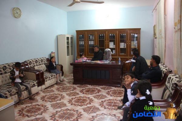 مركز التضامن التخصصي لتقويم النطق:: يعيد الأمل إلى الطفلة فاطمة رزاق عامر