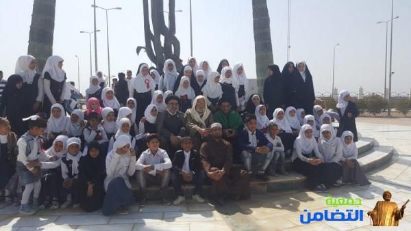 ضمن برنامجها السنوي الترفيهي.. مدرسة التضامن الثالثة في الجبايش تنظم سفرة ترفيهية لتلاميذها(مصور)