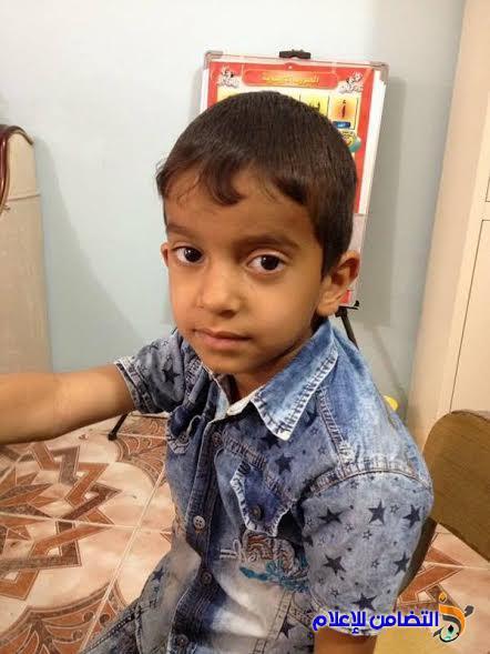 مركز التضامن التخصصي لتقويم النطق:: يعيد الأمل إلى الطفل حسين علي جويد