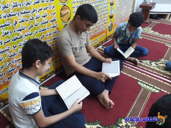 بالصور ...دار القران الكريم في الناصرية تواصل دورتها القرآنية التي تقيمها مدارس الإمام الصادق(ع)