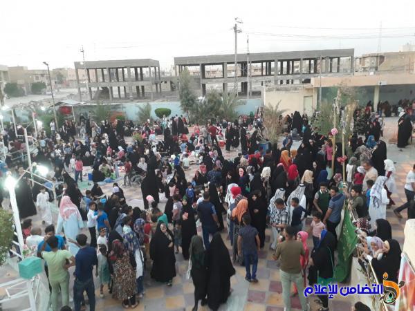بالصور.. الآلاف من أبناء الناصرية يحيون عيد الغدير الأغر في مقام أمير المؤمنين(ع)