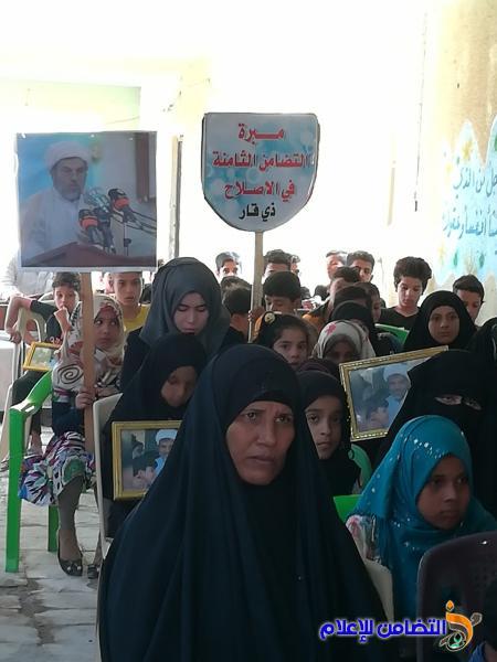 تقرير مصور حول احتفال عيد الغدير الاغر بمبرة التضامن في قضاء الاصلاح بذي قار