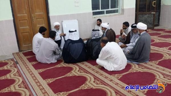 بالصور: مدرسة العلوم الدينية في الناصرية تستأنف دوامها الحوزوي