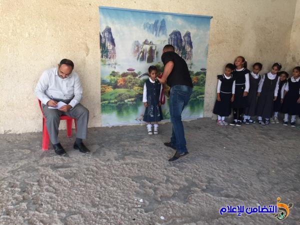 مكتب مبرات التضامن يستكمل الإجراءات الخاصة بالأيتام الجدد في مبرة الرفاعي - مصور-
