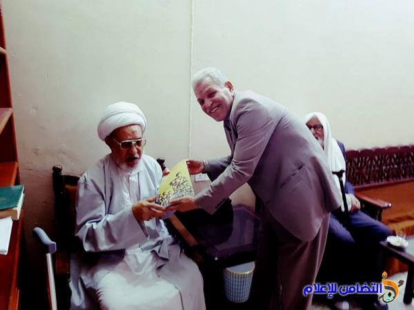 آية الله الشيخ الناصري.. يثني على دور الحركة الكشفية في خدمة وتنمية المجتمع