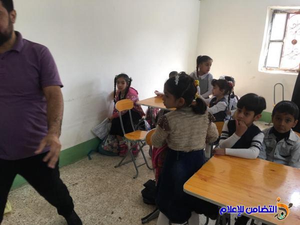 مبرة التضامن الأولى للأيتام في الناصرية ::  توزع الكسوة الشتوية على تلاميذها - مصور -