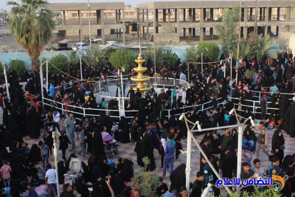 التقرير المصور عن إحياء ذكرى وفاة النبي المصطفى (ص) بمقام أمير المؤمنين (ع)في الناصرية