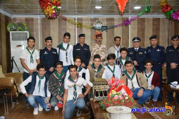 كشافة التضامن تشارك الجيش العراقي عيده الـ97 - تقرير مصور-