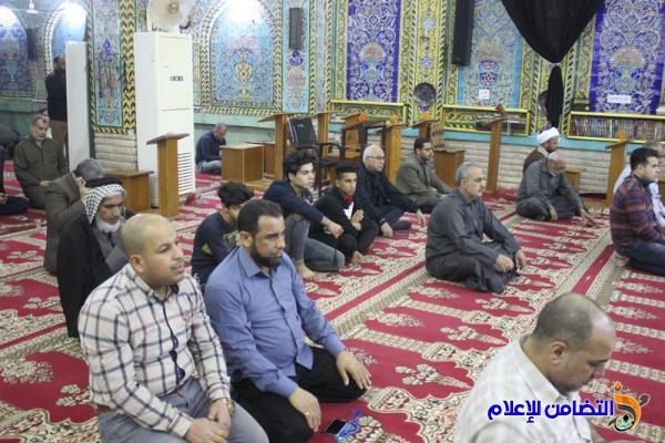 حــوار مفتــوح لسماحة الشيخ محمد مهدي الناصري بمسجد وحسينية أهل البيت (ع) في الناصرية(تقرير مصور-صوتي)