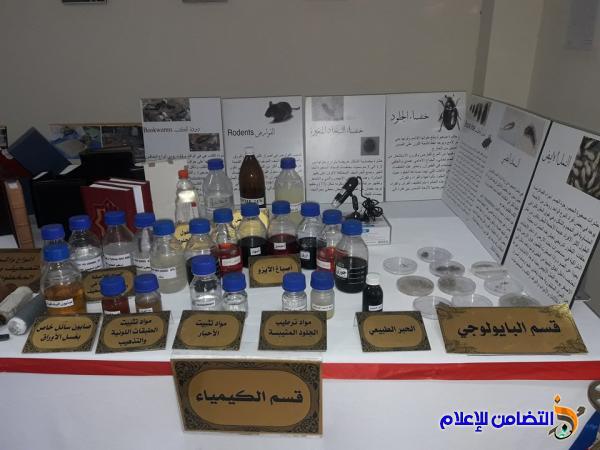 بالصور: رئيس جمعية التضامن الإسلامي يحضر المعرض السنوي الثاني للمخطوطات والوثائق العراقية