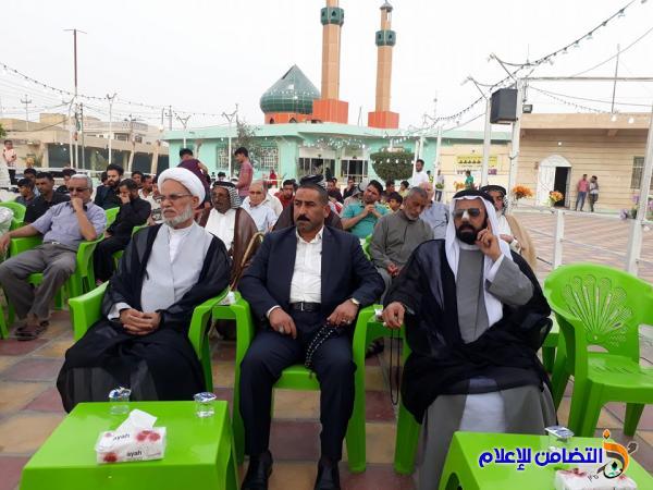 مقام أمير المؤمنين في الناصرية يقيم احتفالا بذكرى ولادة الإمام علي(ع) - تقرير مصور -