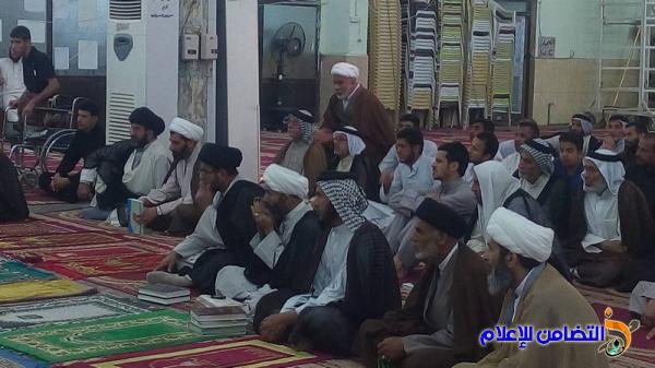 مدرسة العلوم الدينية في الناصرية تقيم ندوة حوارية حول فكر الشهيد محمد باقر الصدر - مصور-