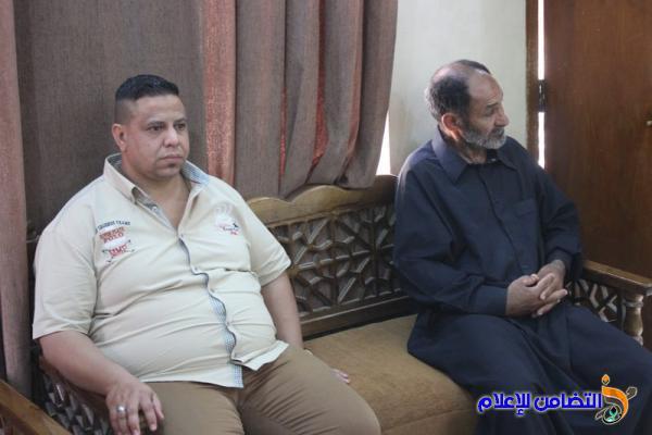 إثناء لقائه بمدير مكافحة الجريمة المنظمة في ذي قار.الشيخ الناصري: يشددعلى تطبيق القوانين في محاربة المخدرات وانتشارالظواهر السلبية
