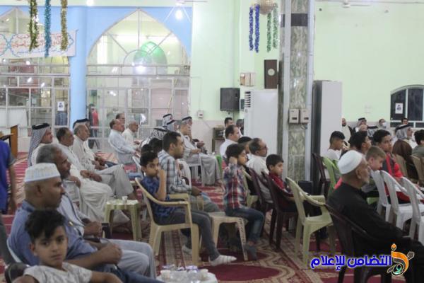 تقرير مصور عن المحاضرة الدينية والمسابقة الرمضانية بمسجد الشيخ عباس الكبير في الناصرية
