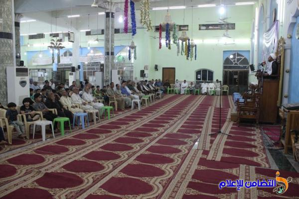من جامع الشيخ عباس الكبير وسط الناصرية ... تقرير مصور عن البرنامج الرمضاني لليلة الخامسة من شهر رمضان المبارك