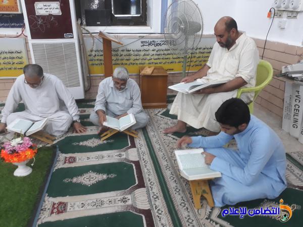 بالصور .. الختمة القرآنية المرتلة في جامع البنائين وتلاوة جزء كامل من القرآن الكريم في كل ليلة من ليالي شهر رمضان المبارك