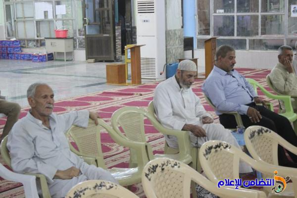 تقرير مصور –صوتي  حول إحياء الليلة الرابعة والعشرين من شهر رمضان بجامع الشيخ عباس الكبير في الناصرية