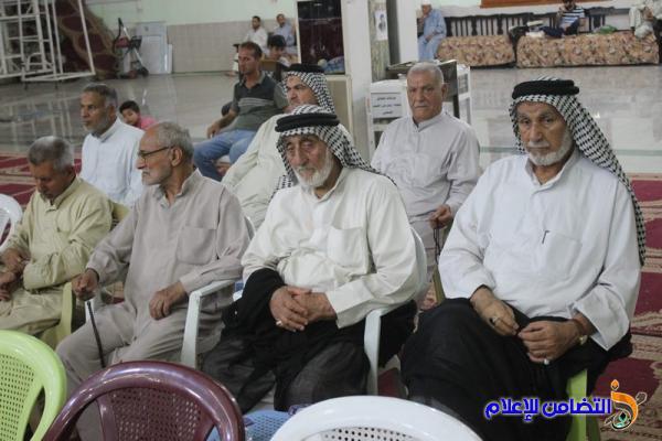 التقرير المصــور لإحيــاء الليلة الخامسة والعشرين من شهر رمضان بجامع الشيخ عباس الكبير بالناصرية