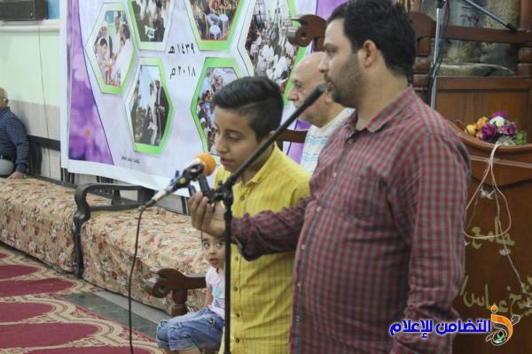 التغطية الإعلامية لإحياء الليلة السادسة والعشرين من شهر رمضان بجامع الشيخ عباس الكبير