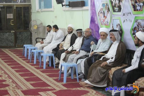 برنامج الليلة السابعة والعشرين من شهر رمضان بجامع الشيخ عباس الكبير في الناصرية (تقرير مصور –صوتي)