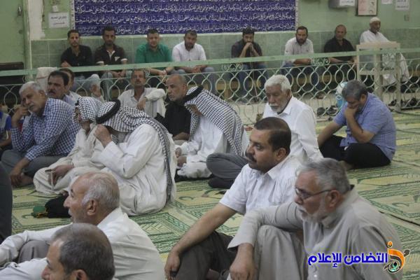 إحياء ذكرى استشهاد الإمام الصادق في مسجد وحسينية أهل البيت في الناصرية - مصور-