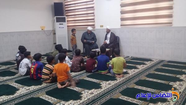 مدارس الإمام الصادق تقيم دورة صيفية في مجمع الجواد السكني بالناصرية - مصور-