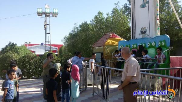 في اختتام البرنامج الصيفي...إدارة مبرة التضامن للأيتام في سوق الشيوخ  تنظم سفرة ترفيهية (مصور)