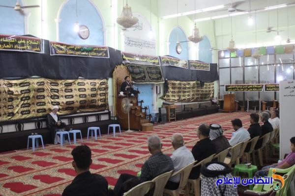 جمعية التضامن الإسلامي تقيم مجلسها الحسيني السنوي الخاص بأيام عاشوراء (صوتي- مصور)