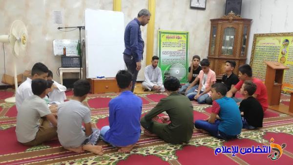 دار القرآن الكريم في الناصرية:تنظم دورة قرآنيـة كل ثلاث أيام في الاسبوع