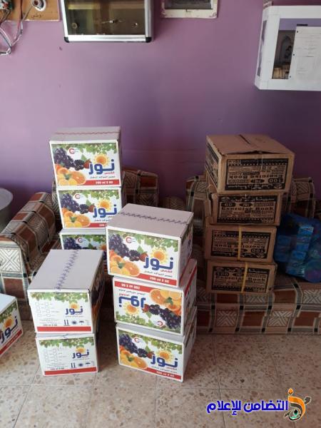 مجموعة من فاعلي الخير يتبرعون بالقرطاسية لتلاميذ مبرة التضامن في سوق الشيوخ - مصور-