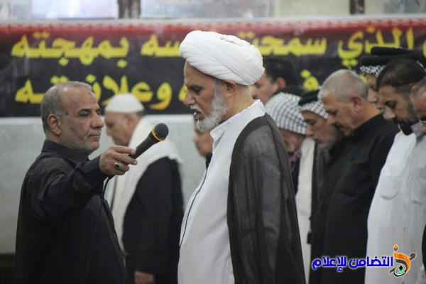 صلاة الجمعة في جامع الشيخ عباس الكبيرفي الناصرية  (تقرير صوتي -مصور)