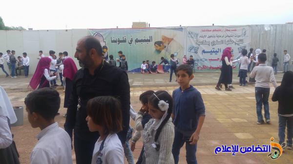 بالصور: المشرف العام لمبرات التضامن للأيتام يتفقد مبرة التضامن الأولى في الناصرية