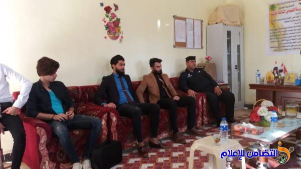 لجنة التقيّم الخارجي في تربية ذي قار تزور مدرسة التضامن للأيتام في قضاء الجبايش