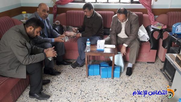 قسم صناديق الصدقات الخاصة بمبرات التضامن للأيتام  في ذي قار يزور مبرتي النصر والرفاعي