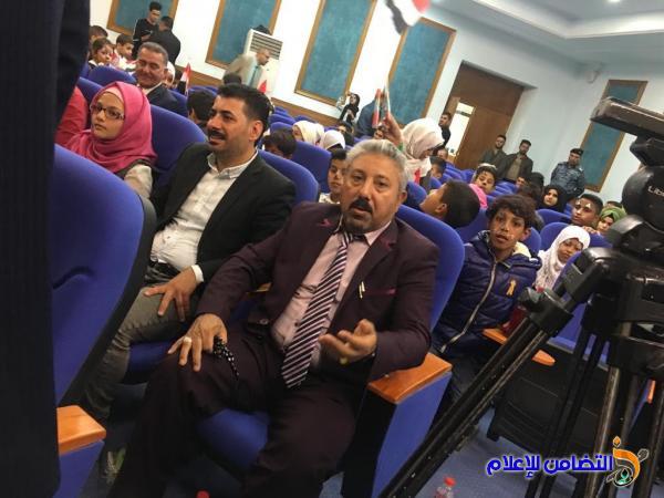 الشيخ الناصري يحضر الحفل السنوي لمفوضية حقوق الإنسان بمناسبة اليوم العالمي للطفل
