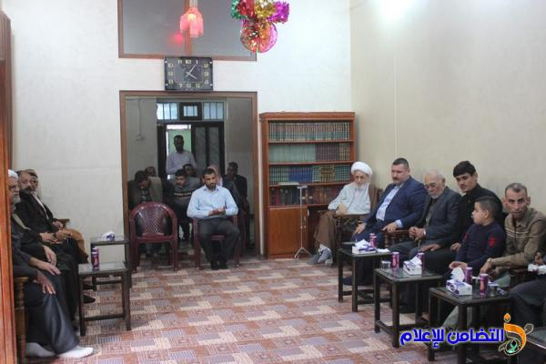 مكتب آية الله الشيخ الناصري يقيم حفلا بذكرى المولد النبوي الشريف - تقرير مصور-