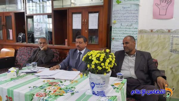 مدرسة التضامن للأيتام في الشطرة تعقد اجتماعا لمجلس الأولياء وتنتخب هيئته الجديدة