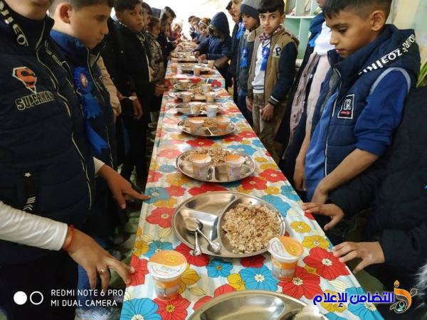معلمة تتبرع بوجبة غذائية لتلاميذها الأيتام في مبرة التضامن الثامنة