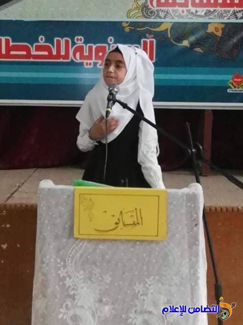 مبرة التضامن الخامسة للأيتام تشارك في مسابقة الخطابة والشعر العربي لطلبة المدارس