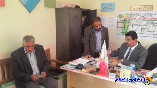 لجنة تقييم الجودة المدرسية تزور مبرة التضامن العاشرة في ناحية المنار