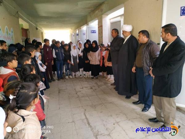 مبرة التضامن الثامنة للأيتام في الإصلاح توزع نتائج الفصل الأول على تلاميذها
