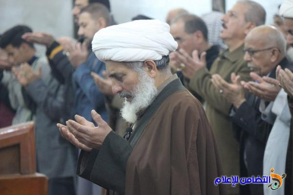 تقرير(صوتي -مصور) عن صلاة الجمعــة  بجامع الشيخ عباس الكبير في الناصرية