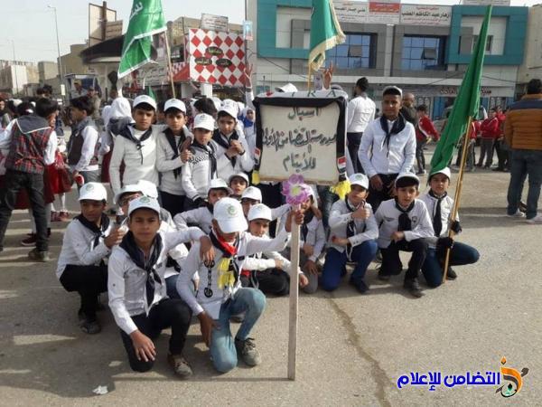 مبرات التضامن للأيتام تشارك في المسيرة الكشفية السنوية بذكرى تأسيس الجيش والشرطة