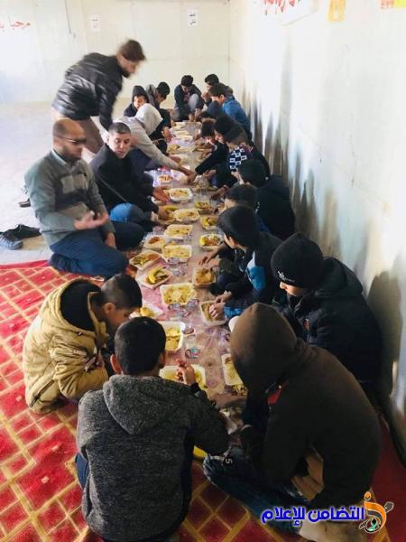 عدد من فروع مبرات التضامن للأيتام توزع المساعدات المالية والعينية على تلاميذها