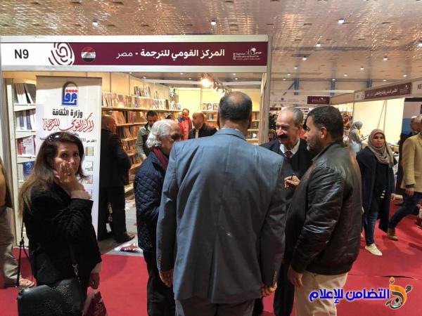 تقرير مصور عن رواد جناح جمعية التضامن الاسلامي بمعرض بغداد الدولي للكتاب