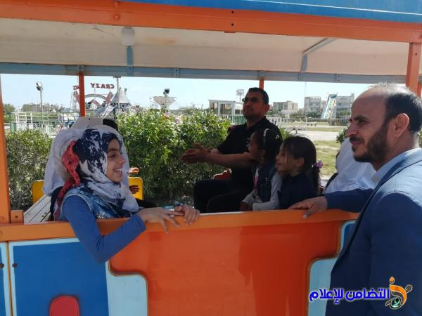 مبرة التضامن للأيتام في الفهود تنظم سفرة ترفيهية لتلاميذها