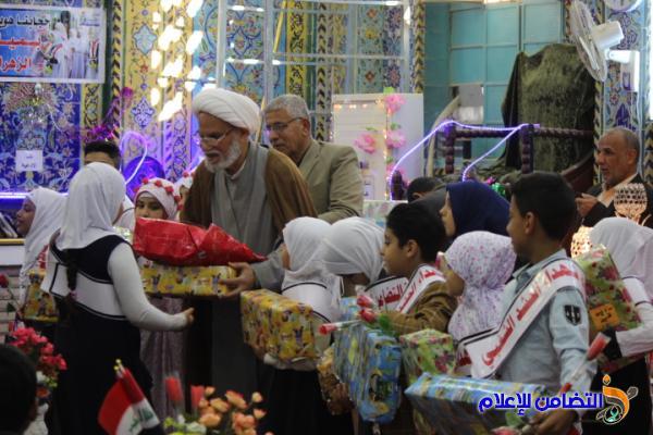 جمعية التضامن الإسلامي في الناصرية تقيم حفلها السنوي لتكريم الأيتام المتفوقين والفتيات البالغات سن التكليف