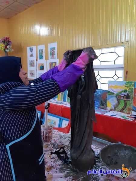 مبرة التضامن للأيتام في الناصرية تحصد المركز الأول في معرض الفنون التشكيلية للمدارس