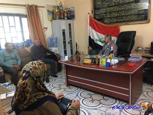وفد من مكتب الصحة النفسية يزور مبرة التضامن للأيتام في الناصرية