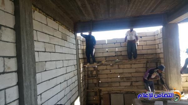 مبرة التضامن للأيتام في قضاء الشطرة تشييد قاعتين في الطابق العلوي